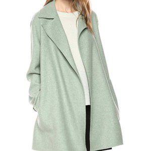 Women's double cover coat